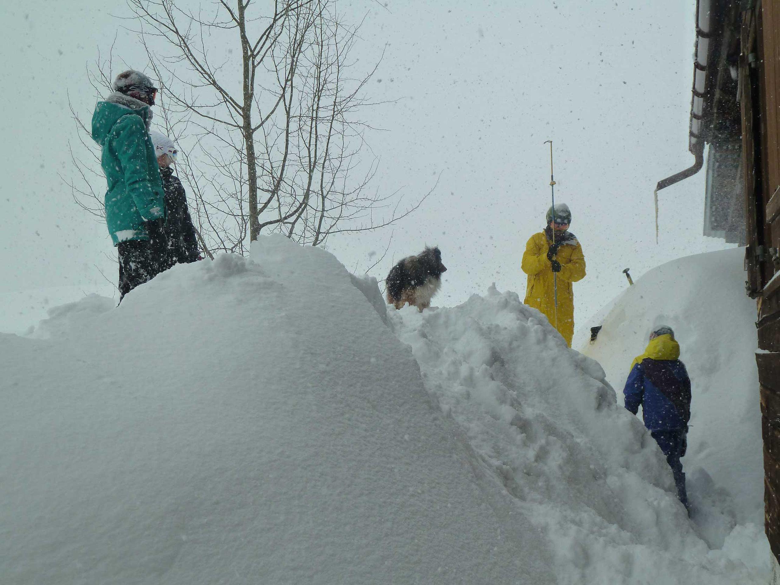 Schneespaß für Kinder