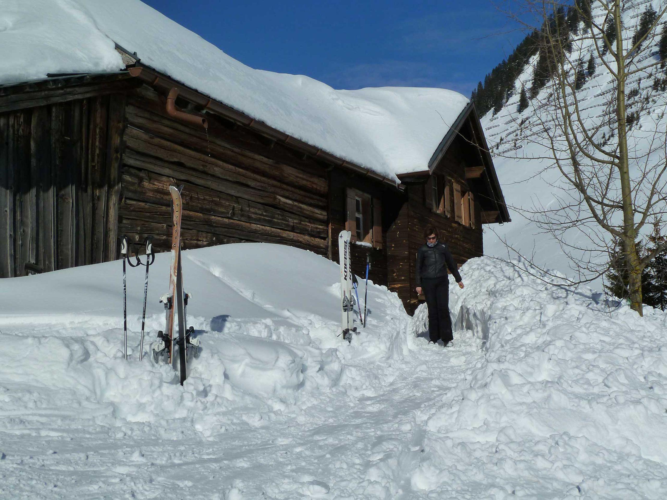 Schifahren bis vor die Haustüre