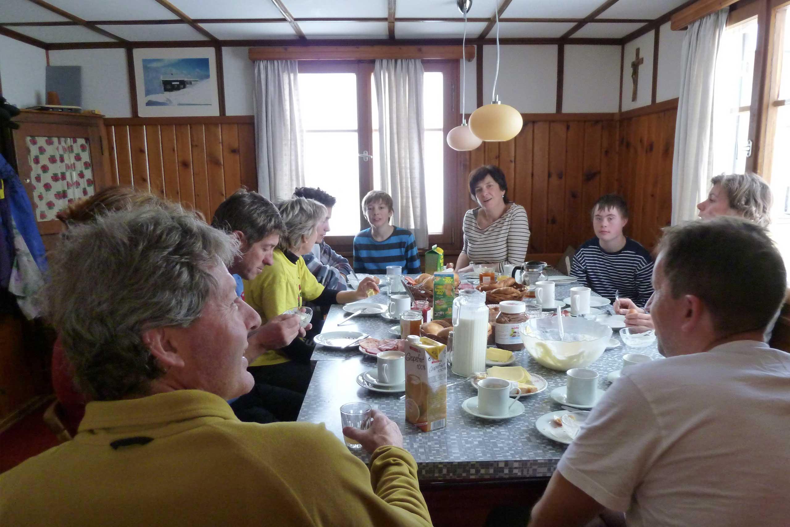Frühstück im Haus Glatthorn